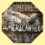 Ngauge American Hero Octagonal table top art