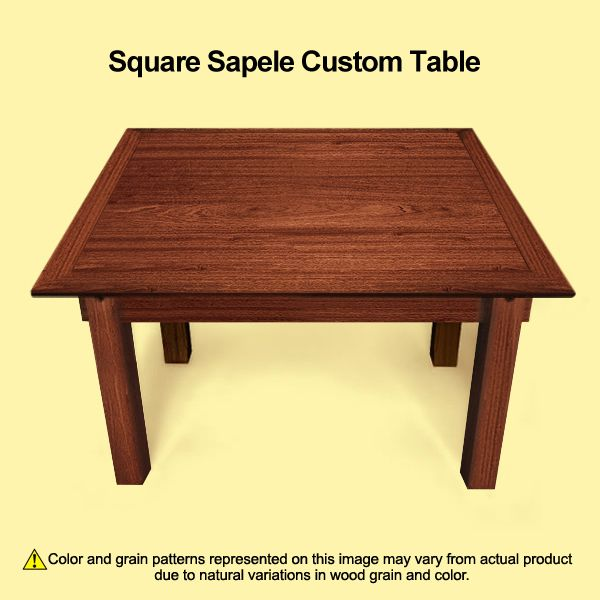 Convertible Coffee Table Square